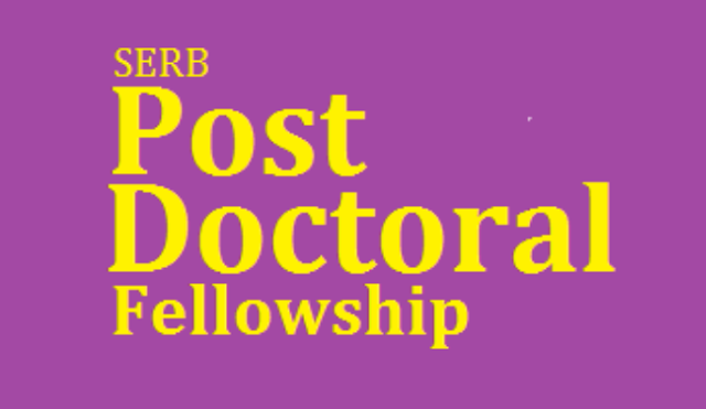 SERB - National Post Doctoral Fellowship (N-PDF) 2019 : Science and Engineering