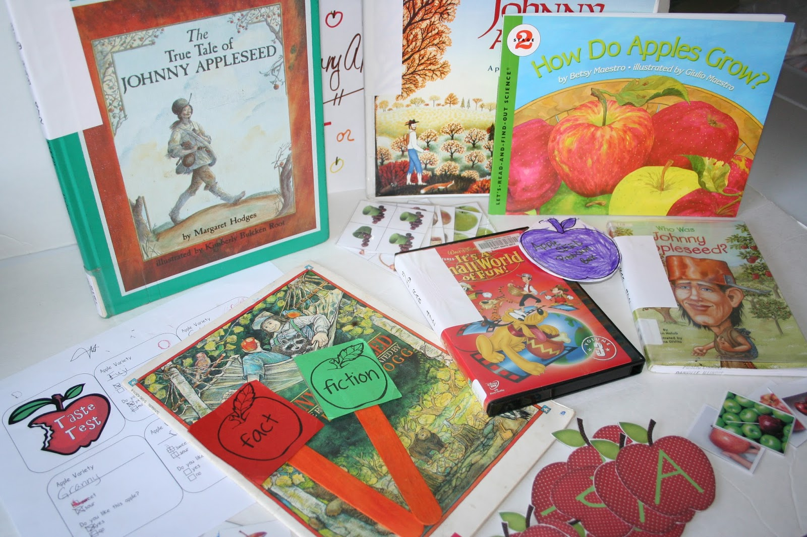 Our Country Road Johnny Appleseed Unit Homeschooling