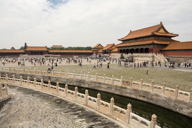 čína, cestování, blog, Peking, smog, Zakázané město, Mao ce Tung