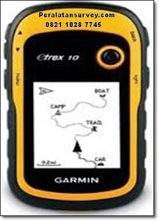 Harga Terbaru  gps garmin etrex 10 komplit  CD software dan training  GRATIS