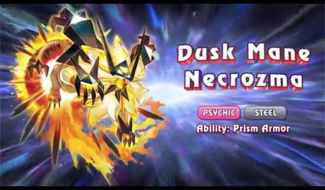 Dusk Mane Necrozma
