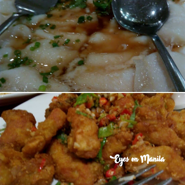 fish fillet, pepper spare ribs
