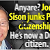 SISON CHANGED HIS CITIZENSHIP FROM FILIPINO TO DUTCH! WATCH AND SHARE.