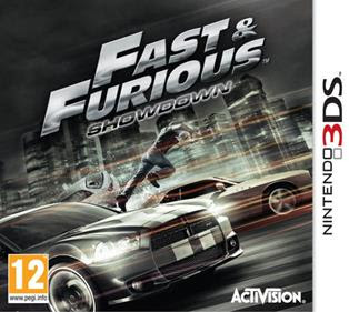Fast Furious Showdown, NDS, Español, Mega, Mediafire