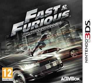 Fast Furious Showdown, NDS, Español, Mega, Mediafire
