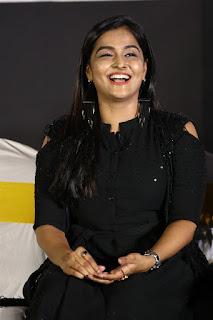 Actress Ramya Nambeesan Stills At Plan Panni Pannanum Audio Launch