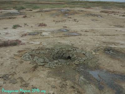 Темрюк грязевой вулкан фото