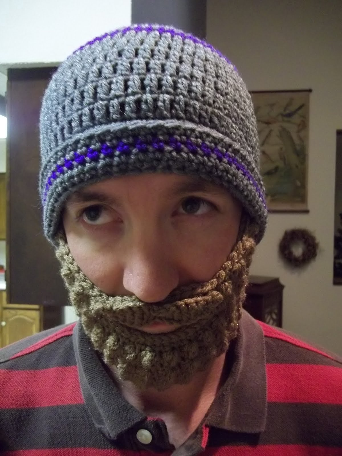 862d33585d1 Our 7 Acres  The Beard Hat - Crochet Tutorial