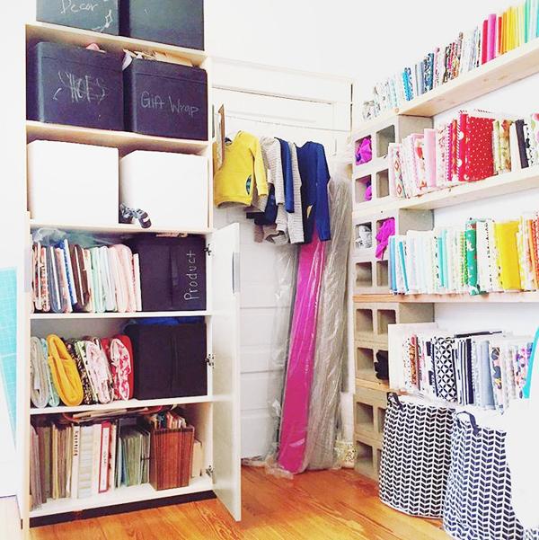 Budget Friendly Sewing Room Organization Ideas | Blue i ...