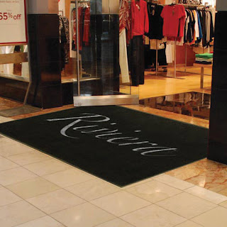 Greatmats logo door entrance mat