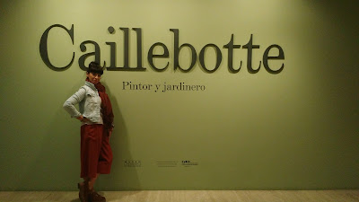 Caillebotte,pintor,museo, Madrid