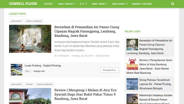 Gembell Plesir Tempat Wisata Pulau Jawa