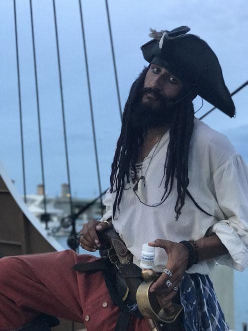 Pirate HiJack aboard the Black Raven Pirate Ship in St Augustine