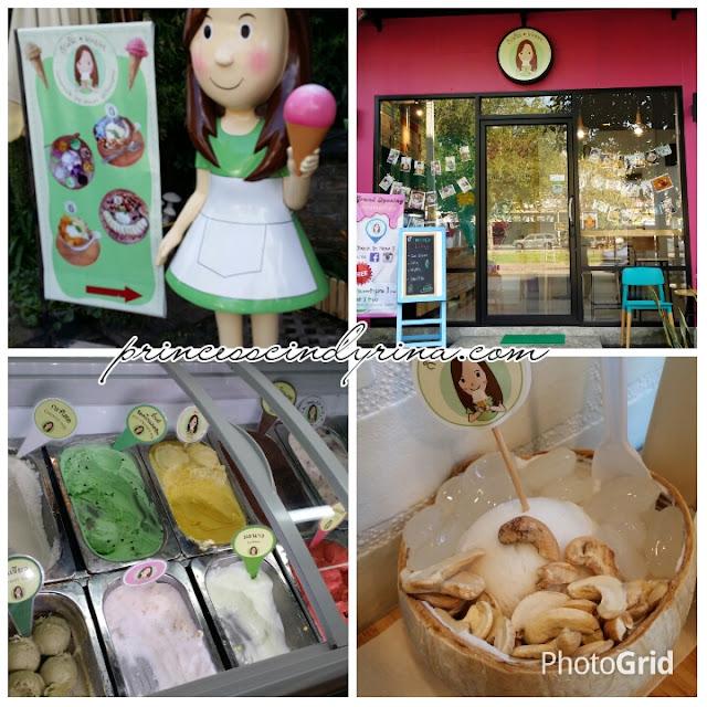 ice-cream store
