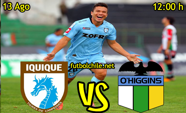 Ver stream hd youtube facebook movil android ios iphone table ipad windows mac linux resultado en vivo, online: Deportes Iquique vs O'Higgins,