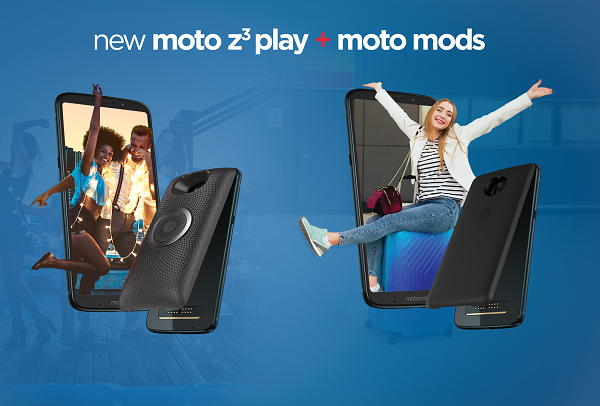 "Moto Z3 Play goes official with 6"" Full HD Super AMOLED display, Moto Mods and 4GB RAM"