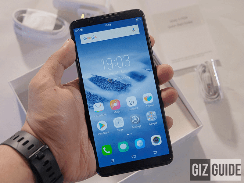 Vivo Y71 Unboxing and First Impressions