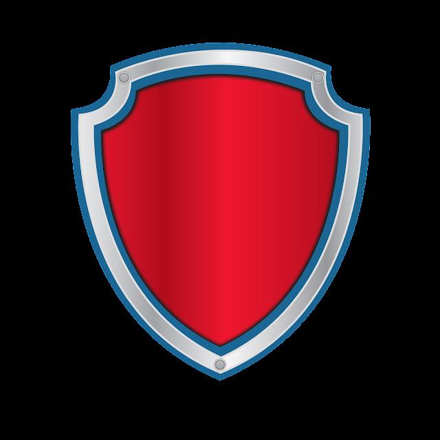 image relating to Paw Patrol Logo Printable identified as Alfabeto para Escudos de Paw Patrol para Imprimir Gratis