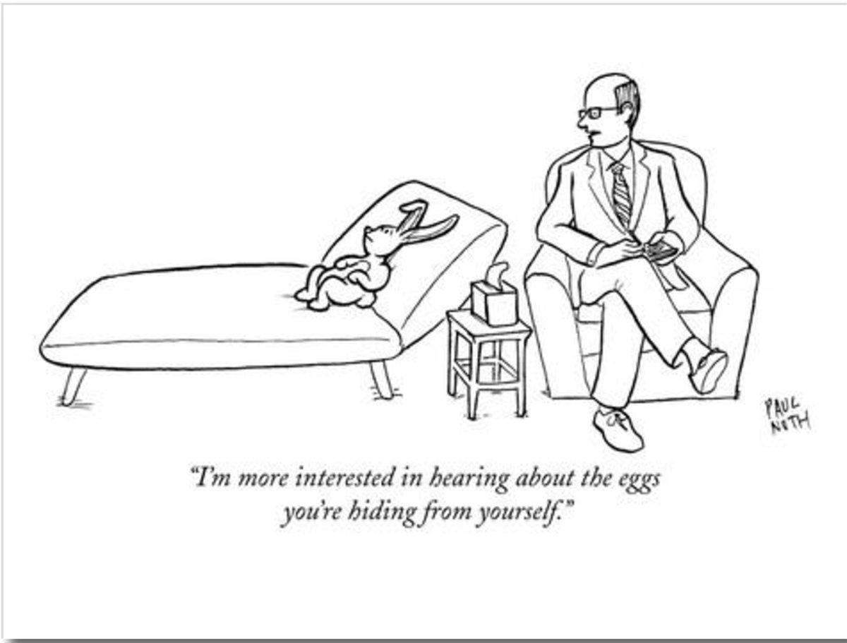 Mystery Fanfare Cartoon Of The Day Easter Bunnyysis