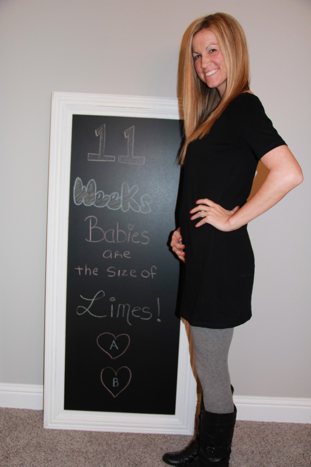 11 Weeks (and 5 days): Baby Bump