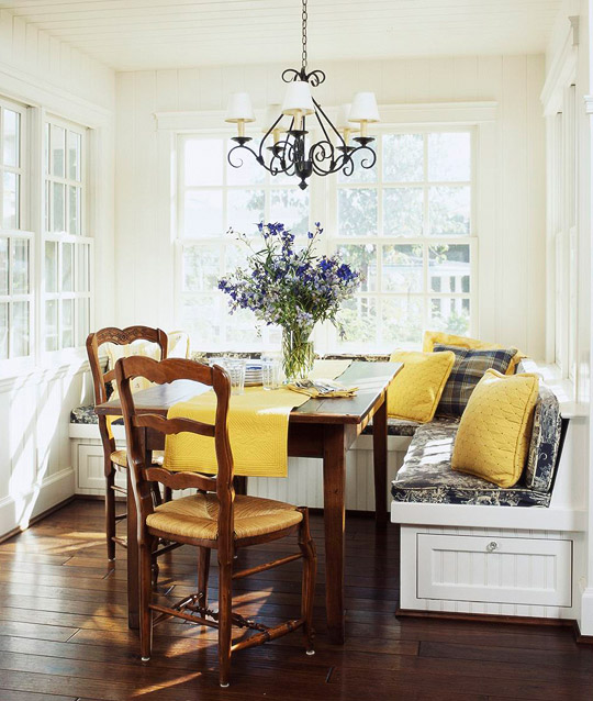 Banquette Seating: Smart, Beautiful Kitchen Banquettes Luxury Design