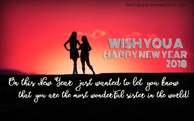 New Year Quotes for Sister