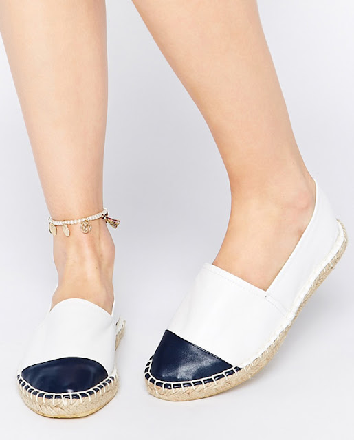 Without espadrille summer is never complete. This season is full of pretty models with ankle straps and embellishing. Here are 10 of my favorite models