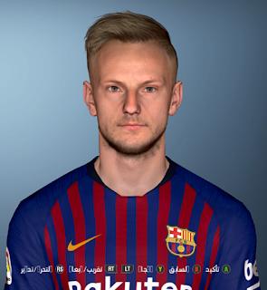PES 2017 Faces Ivan Rakitić by Shenawy