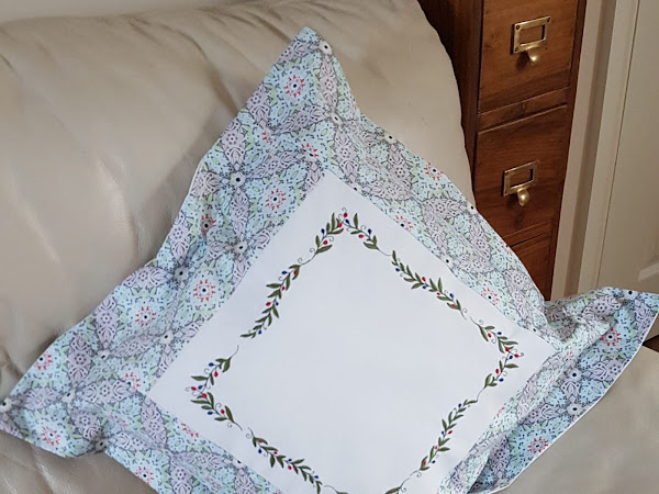 How to place your design in a hoop on an embroidery machine.