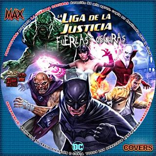 La Liga De La Justicia FO Galleta Maxcovers