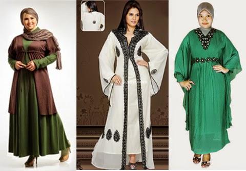 13 Gambar Model Baju Muslim Untuk Orang Gemuk Terbaru 2016