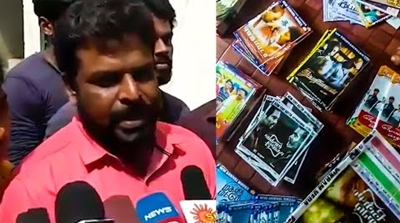 Thiruttu DVD's of Vivegam, Magalir Mattum, Thupparivalan Captured in Bulk!