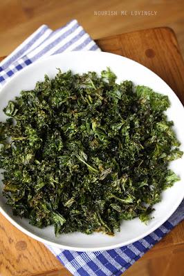 Crispy kale (AIP)