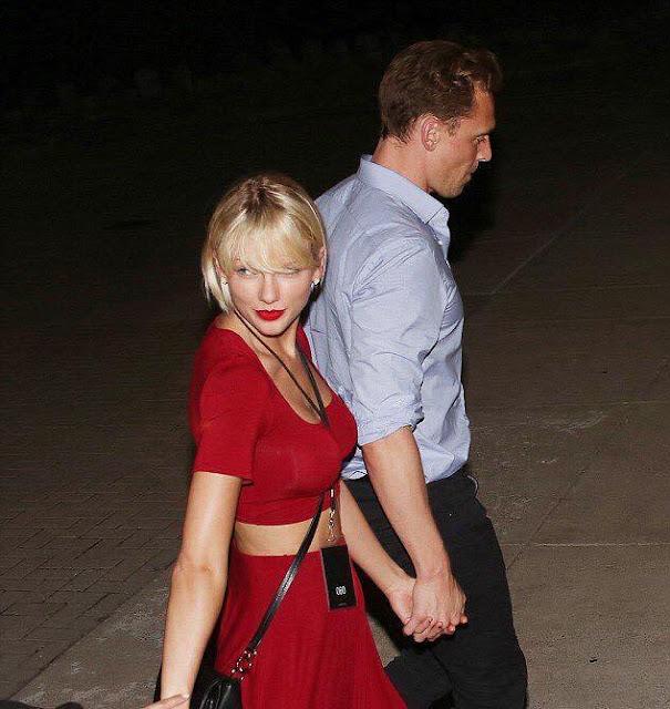 Taylor Swift y Tom Hiddleston asisten juntos a concierto de Selena Gómez (FOTOS + VIDEOS)