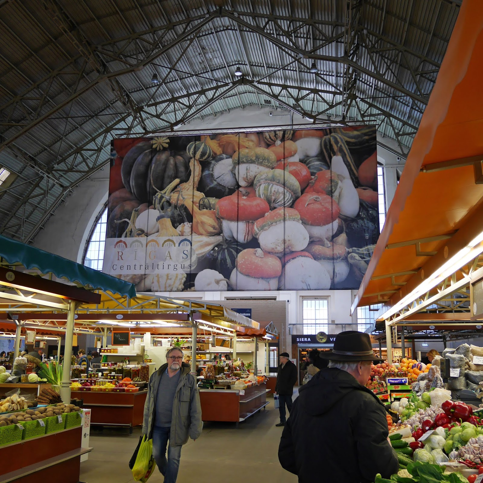 Riga Central Market, Latvia
