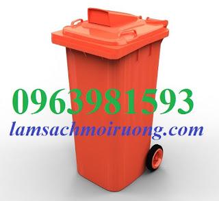 Cung cấp thùng rác nắp hở, thùng rác công cộng, thùng rác 240 lít giá rẻ