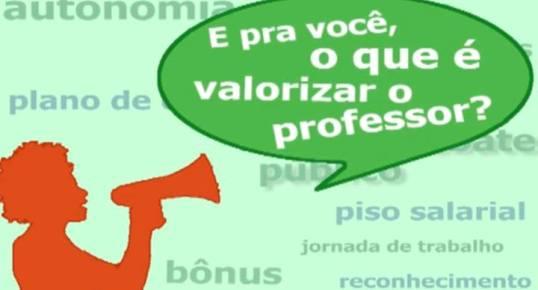 Laboratório de Redação: Valorização do professor