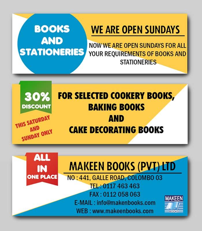 Makeen Books (Pvt) Ltd is the largest Internationa School Book Importers & Distributors in Sri lanka (Sri Lanka custom imports figures data). We have our Mark on most of the Standard international books that sells on the stalls of many Famous Book Dealers in Sri Lanka. We have over 50 years of experience in Book industry & we have Grown & Understood the Requirements of our customers that in need of Quality Reading in an Affordable Prize. We offer Quality international books in lowest prize with enormous inventory of books that you will not find any were in this island. This is the first step to introduce our services in this new Era to the next Generation of Sri lankan Book Readers .With makeenbooks.com we offer you the Widest Choice at The Lowest prize as we stand for. With this we are aiming to make Easy & safe book Perches online, with our Many Pay option that including Credit card, bank deposits & Pay on Deliver. With our International Contacts & Direct Exporters in many Country's we are Highly Capable of Delivering an Outstanding Personal service that you've been missing all this time.