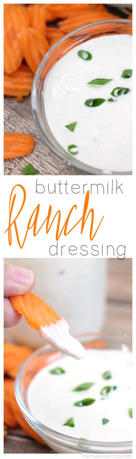 Simple Homemade Buttermilk Ranch Dressing Recipe