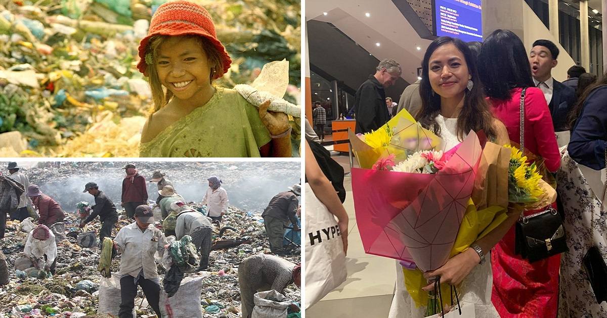 Girl Raised In Garbage Dumps Earned A Scholarship From The University Of Melbourne Proving That Anything Is Possible
