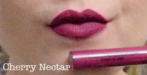 sephora cream lip stain cherry nectar