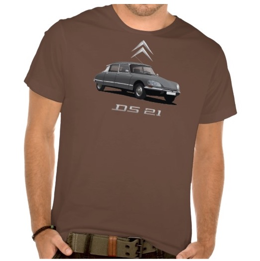 CItroën DS 21 t-shirt gray