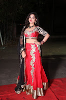 Sirisha Dasari in Red Ghagra Backless Choli ~  032.JPG