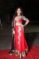Sirisha Dasari in Red Ghagra Backless Choli ~  032.JPG