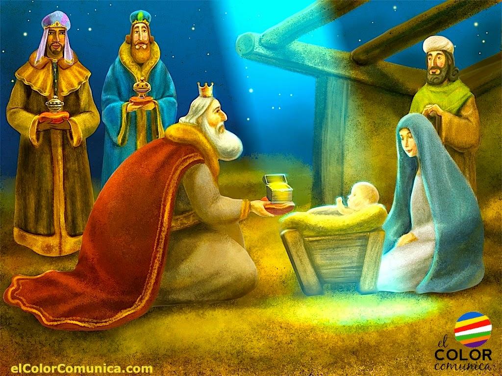 El Color Comunica Tres Magos De Oriente 6 De Enero Dia De Reyes Magos