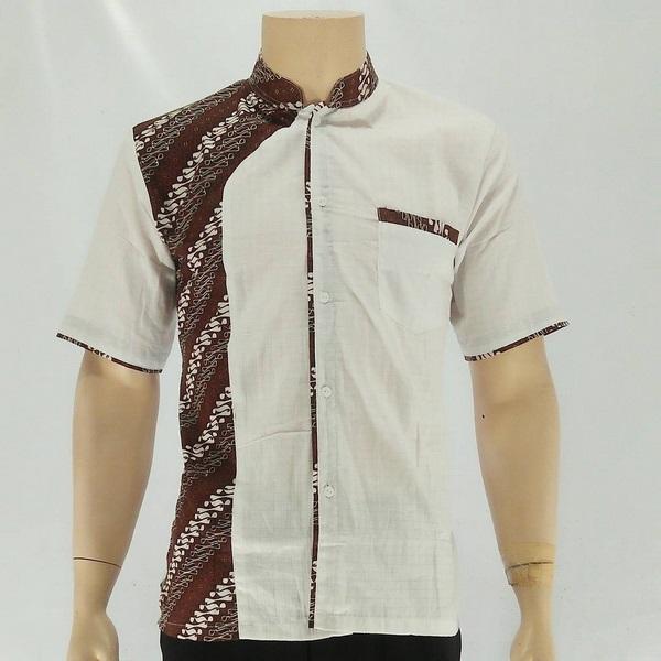 Baju Batik Hem Pria  Kemeja Batik Solo  Toko Online