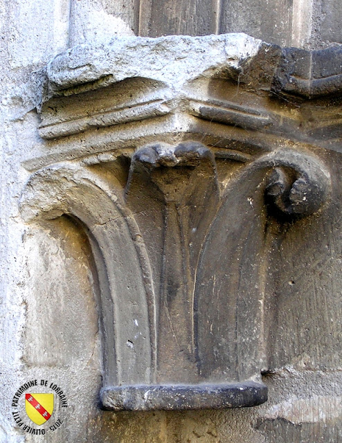 LIVERDUN (54) - Collégiale Saint-Pierre (XIIe-XVIIIe siècle)(Extérieur)