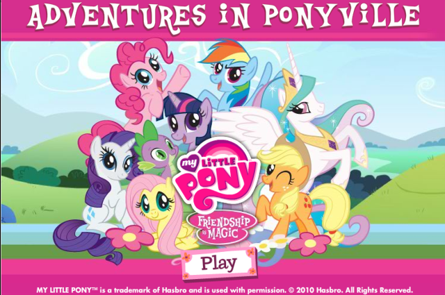 Mr. Nutt's Blog Of Stuff: Let's Play More My Little Pony