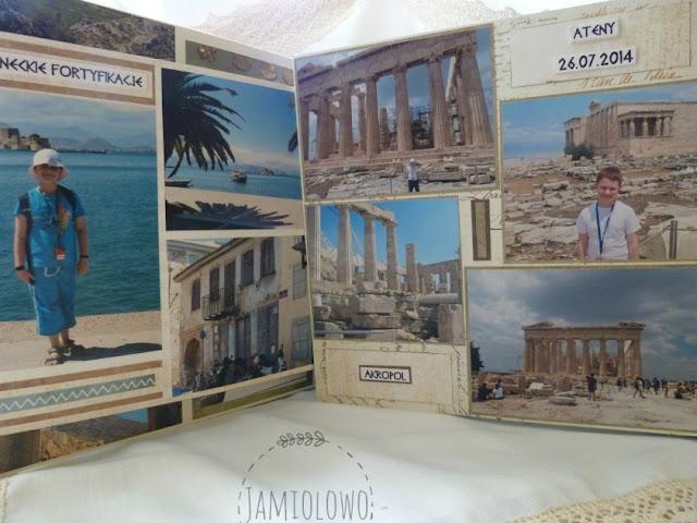 Nafplion i Akropol w Atenach