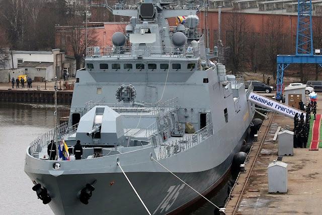 Руска бойна фрегата потегля към Средиземно море